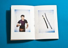 Knife Fanzine by Brunet Romain, via Behance