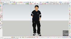 Admin's Sketchup 2D figure (face me)
