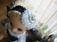 Olivia Paige  Little Pin up Sailor flower by OliviaPaigeClothing, $8.00