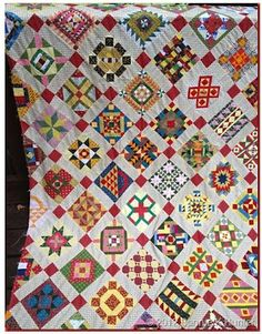 Completely Insane! Nearly Insane quilt by Bonnie Hunter at Quiltville