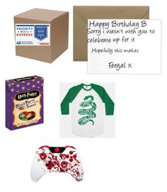 """""""Brianna~Opening The Boxes: Presents from Fergal (May 8th 2014)"""" by wwetnagirl ❤ liked on Polyvore featuring Terrapin Stationers"""