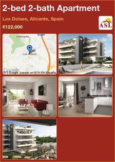 2-bed 2-bath Apartment in Los Dolses, Alicante, Spain ►€122,000 #PropertyForSaleInSpain