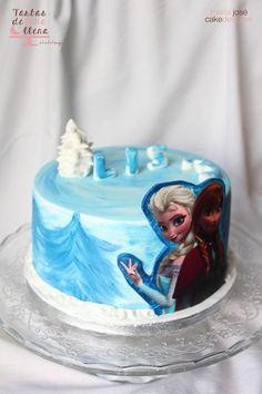Tarta Frozen - Frozen Cake www.tartasdelunallena.blogspot.com