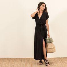 Maxi dress elastic waistband #MYSbasic