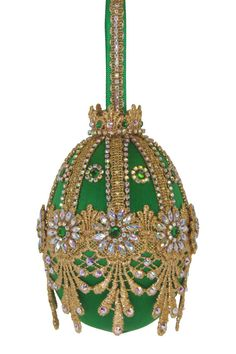 """Items similar to ORNAMENT KIT - """"Archangel Harmony"""" with directions delivered by email as a .pdf file on Etsy Beaded Christmas Ornaments, Glitter Ornaments, Christmas Balls, Christmas Crafts, Christmas Decorations, Xmas, Christmas Favors, White Christmas, Christmas Tree"""