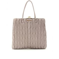 326c8158372 I CANT SAY IT ENOUGH, MIUCCIA CAN DO NO WRONG. MIU MIU Large Handbags