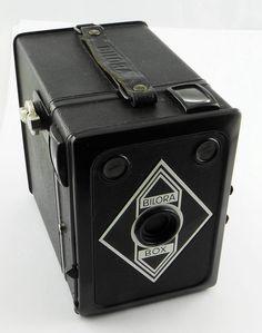 Bilora Box 3a - Boxkamera Rollfilm 6 x 9 - Made in Germany