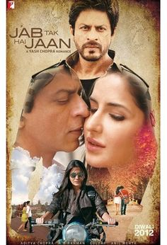 Read movie synopsis of Jab Tak Hai Jaan.Jab Tak Hai Jaan is an upcoming 2012 Bollywood film directed by Yash Chopra, written and produced by Aditya Chopra under their production house Yash Raj Films. Bollywood Stars, Bollywood Poster, Bollywood News, Movies Bollywood, Bollywood Cinema, Beau Film, Katrina Kaif, 2012 Movie, Movie Tv