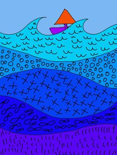 Art Sub Lessons: Art Sub Plans - Boat on a River of Pattern Art Education Projects, Art Education Lessons, Easy Art Projects, Education Quotes, Kindergarten Art Lessons, Art Lessons Elementary, Elementary Schools, Art Sub Plans, Art Lesson Plans