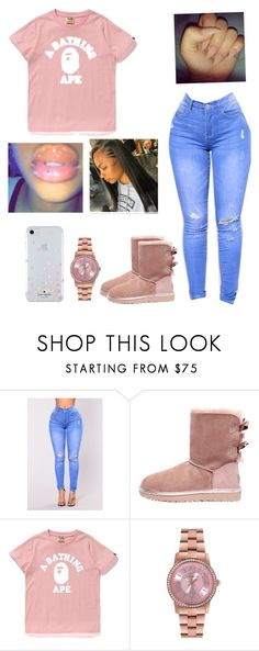 """"""""""" by stylemaster03 ❤ liked on Polyvore featuring UGG, Ted Baker and Kate Spade"""