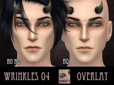 The Sims Resource: Wrinkles 4 by RemusSirion • Sims 4 Downloads