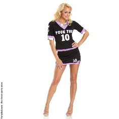"""""""Puck You"""" Adult Plus Costume $25.64"""