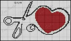Cross Stitch Heart, Cross Stitch Patterns, Sewing, Crafts, Fictional Characters, Crossstitch, Marketing, Cross Stitch Embroidery, Diy And Crafts