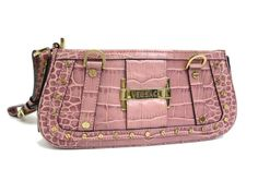 #VERSACE Clutch bag Leather Pink(BF060695). Was $292 now $270 http://global.elady.com