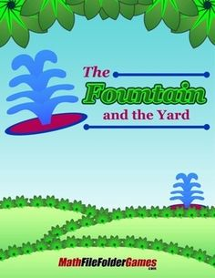 The Fountain and the Yard {Geometry Activity}  https://www.teacherspayteachers.com/Product/The-Fountain-and-the-Yard-Geometry-Activity-1726298