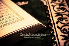 You need friend and intercessor on day of Judgement? Read & act upon Quran!