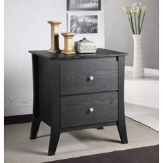 Kinsley 2 Drawer Nightstand