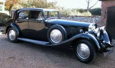 1935 Rolls Royce Phantom 2 Continental By Barker