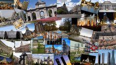 Resultado de imagen de collage de fotos madrid