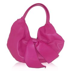 Valentino Pink Bow Hobo http://www.consignofthetimes.com/product_details.asp?galleryid=8601