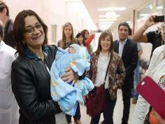 "La Gobernadora Lucia Corpacci visitó la Maternidad Provincial ""25 de Mayo"", para…"