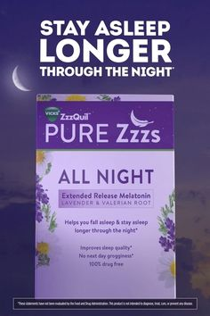 $7.97 · New ZzzQuil PURE Zzzs All Night has extended release melatonin so you can fall asleep, and stay asleep. Healthy Foods To Eat, Healthy Tips, How To Stay Healthy, Healthy Recipes, Healthy Drinks, Home Health Remedies, Keto, Herbal Medicine, Natural Cures