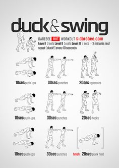 Duck & Swing Workout