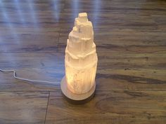 Selenite Lamp, Ice Cream, Crystals, Home Decor, No Churn Ice Cream, Decoration Home, Room Decor, Icecream Craft, Crystal