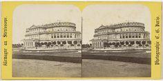 Charles Gerard | Dresde (Saxe), Vue generale du theatre, Charles Gerard, 1860 - 1870 |
