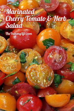 Vegetable Recipes, Vegetarian Recipes, Cooking Recipes, Healthy Recipes, Veggie Food, Cooking Tips, Vegetable Soups, Pork Recipes, Cherry Tomato Salad