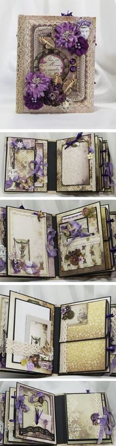 Couture Creations - Hearts Ease Mini Album by Terry's scrapbooks.