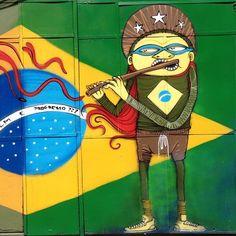 More details of the work, place and artist: http://streetartrio.com.br/artista/nhobi/compartilhado-por-streetartrio-em-aug-21-2013-1519/ /  #nhobi #streetartrio #streetphotography #buildinggraffiti #graffitiart #art #streetart #handmade #street #graff  #urban #wallart #spraypaint #aerosol #spray #wall #mural #murals #painting #arte #color #streetartistry #artist #grafiti #urbano #rue #guerillaart