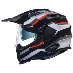 One Size, Silber Airoh Motorradhelm-Visier 2018 After Market-Valor Silber Mirrored