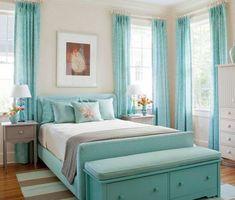 """Résultat de recherche d'images pour """"chambre bleue jeune fille"""""""