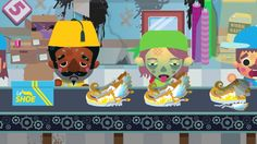 Promo.  Digital agency Littleloud and Channel 4 are teaming up  for Sweatshop an online strategy game that's sure to make you feel like a jerk, (or worse) as you play the manager of a sweatshop producing designer clothes for the UK s high-street stores.