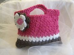 Crocheted Hand Bag for ChildrenEaster by CountryBumpkinBottle, $12.00