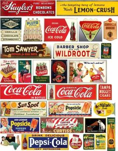Vintage Labels SIGNS for your layout - Page 9 Vintage Labels, Vintage Ads, Vintage Signs, Papel Vintage, Model Training, Road Trip With Kids, Model Train Layouts, Chocolate Ice Cream, Paper Models