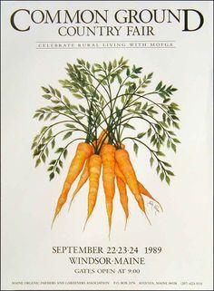 Maine Organic Farmers and Gardeners Association > The Fair > Poster > 1989