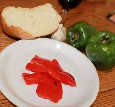 Curts Delectable Creations: Roasted Peppers Are So Easy To Make Instructions Are Here!