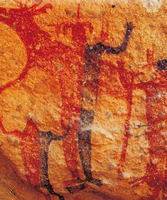 Patrimonio Mundial | 1993 - Pinturas Rupestres de la Sierra de San Francisco - Bien Cultural