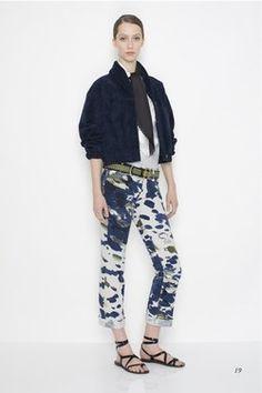 Designer Jeans, origineller Schnitt mit Luxus - Jeans-Trend, Jeans-Modemode, Denim, Jeans-Tipps 2007 -