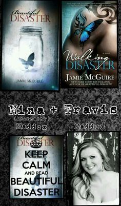 Beautiful Disaster book series. I am addicted. I want more stories Travis and Abby <3