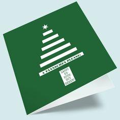 A Tännschen please: moderne Weihnachtskarten drucken lassen