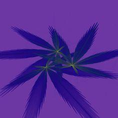 Fractal Art, Fractals, Herb Art, Fractal Patterns, Thing 1, Blue Green, Purple, Weird Creatures, Sale Poster