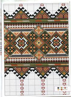 Just Cross Stitch, Beaded Cross Stitch, Cross Stitch Borders, Cross Stitch Kits, Cross Stitch Designs, Cross Stitching, Cross Stitch Patterns, Folk Embroidery, Cross Stitch Embroidery