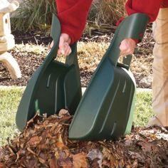 Leaf Rake Hands - What a great idea....