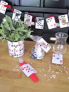 Inexpensive Card Party or Casino Night Ideas...