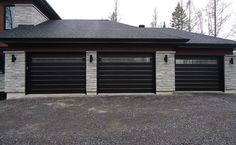 contemporary garage doors - Google Search