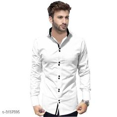 Shirts Trendy Men's Cotton Shirt Fabric: Cotton Sleeves: Sleeves Are Included Size: S M L XL XXL (Refer Size Chart ) Length: Refer Size Chart Type: Stitched Description: It Has 1 Piece Of Men's Shirt Pattern: Solid Country of Origin: India Sizes Available: S, M, L, XL, XXL   Catalog Rating: ★4 (386)  Catalog Name: Siya Trendy Men's Cotton Shirt Vol 16 CatalogID_430557 C70-SC1206 Code: 884-3137595-999