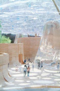Plant=Architecture. Water Architecture, Concept Architecture, Architecture Design, Pavilion Architecture, Architectural Design Studio, Public Art, Urban Design, Installation Art, Landscape Design